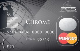 Carte PCS Chrome pour vos dépenses ponctuelles