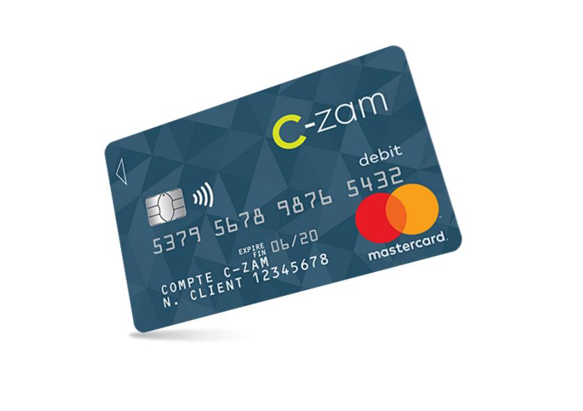 Czam-Carte bancaire carrefour