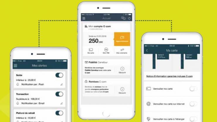 c-zam-application banque mobile