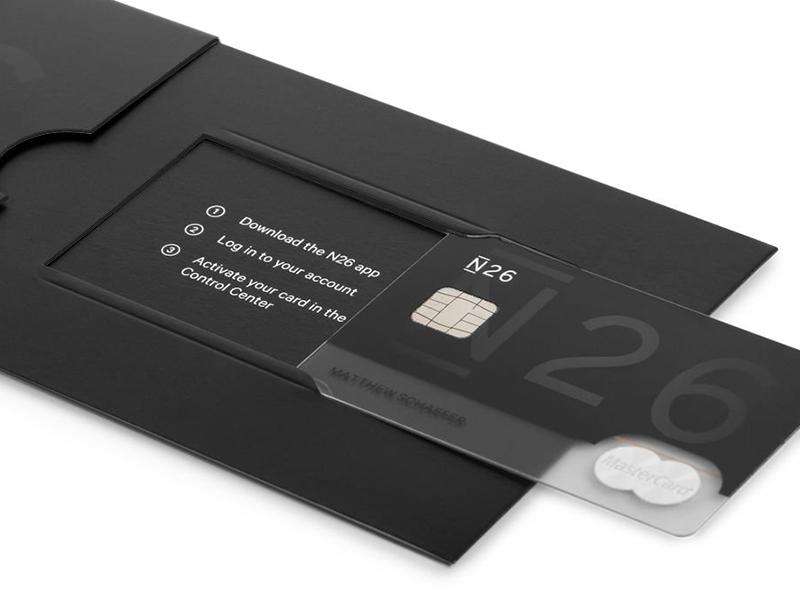Carte N26 Black Retrait.Banque Mobile N26 Carte Metal De Mastercard Et Paiement Nfc
